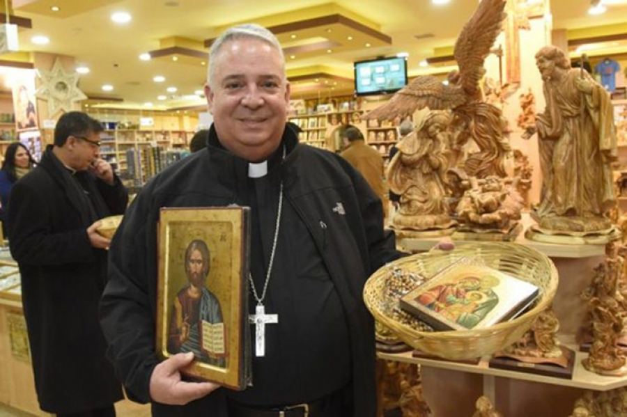 Hispanic bishops' visit gives them firsthand look at Holy Land reality